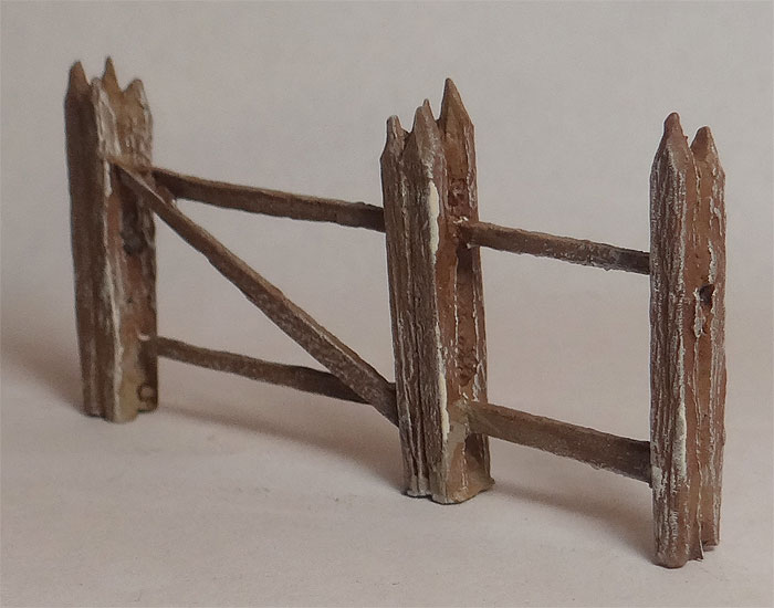 Split Rail Fence with Gate
